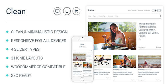 Clean – Minimalistic WordPress Theme For Professional Bloggers.png