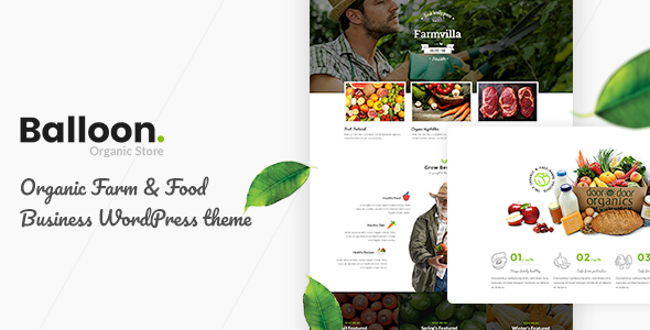 Download Balloon Organic Farm & Food Business WordPress Themes.jpg