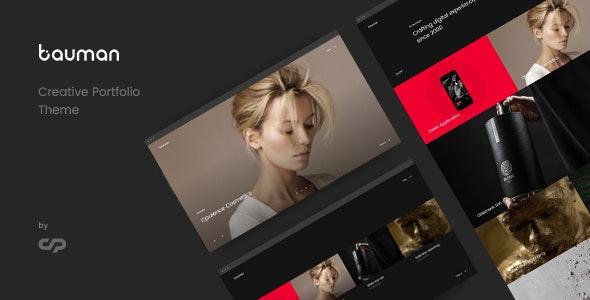 Download Bauman - Creative Portfolio Theme latest version.jpg