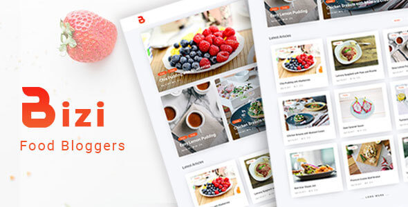 Download Bizi - A WordPress Theme for Food Bloggers laste version (1).jpg