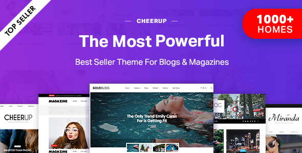 Download CheerUp Blog - Magazine - WordPress Blog Theme latest version.jpg