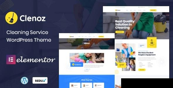 Download Clenoz - Cleaning Service WordPress Theme latest version.jpg