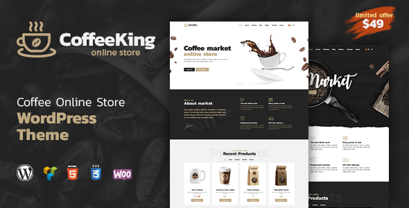 Download Coffee King - Coffee Shop, Coffee House and Online Store WordPress Theme.png