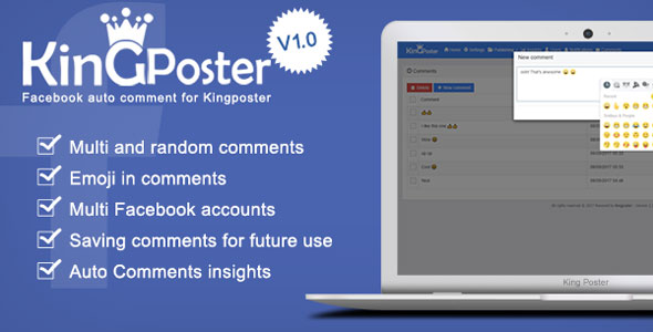 Download Facebook Auto comment Module for Kingposter lastes version.jpg
