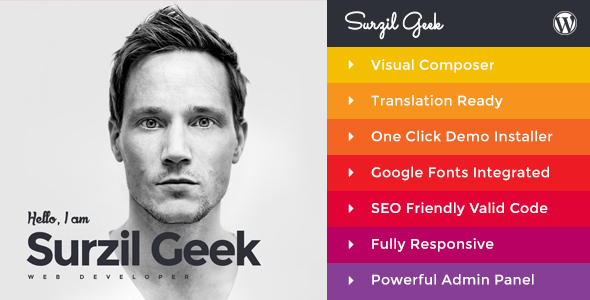 Download Geek - Personal Resume & Portfolio WordPress Theme laster version.jpg