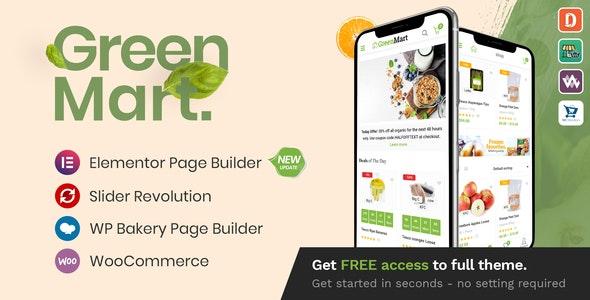 Download GreenMart – Organic & Food WooCommerce WordPress Theme + Themeforest 20754270.jpg