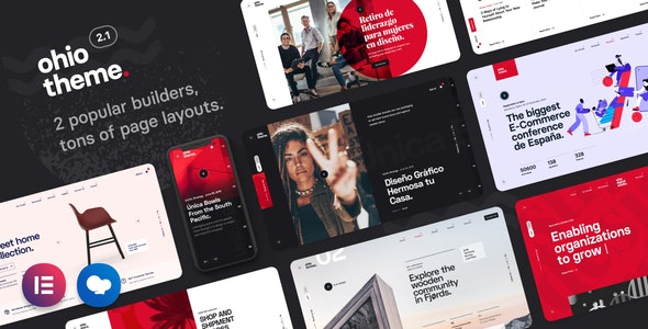 Download Ohio - Creative Portfolio & Agency WordPress Theme latest version.jpg