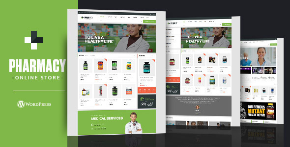 Download Pharmacy WooCommerce WordPress Responsive Theme laster version.jpg
