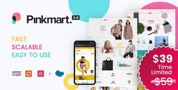 Download Pinkmart - AJAX theme for WooCommerce latest version.jpg