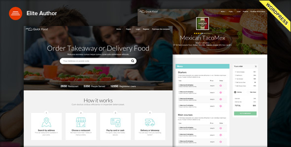 Download QuickFood - Delivery or Takeaway Food WordPress Theme latest version.jpg