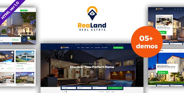 Download ReaLand - Real Estate HTML Template.jpg