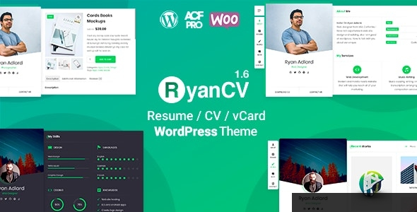 Download RyanCV CV Resume Theme latest version.jpg