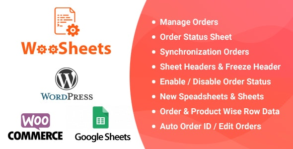 Download WooSheets - Manage WooCommerce Orders with Google Spreadsheet latest version.jpg