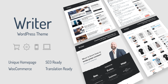 download Writer – Professional WordPress Theme for Writers-590x295.png