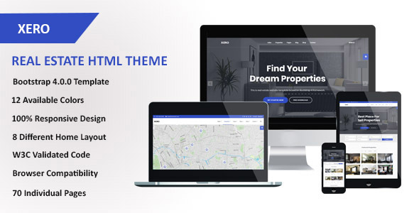 Download Xero - Real Estate HTML Template.jpg
