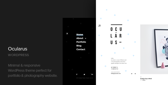 Ocularus - Minimal Photography WordPress Theme.png