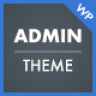 WP Admin Theme CD - A clean and modern WordPress Admin Theme