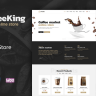 Coffee King - Coffee Shop, Coffee House and Online Store WordPress Theme