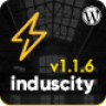 Induscity - Factory, Industry, Construction and Manufacturing Business WordPress Theme