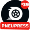 PneuPress - Tire Shop and Car Repair WordPress Theme