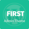 First - Wordpress Admin Theme