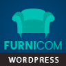 Furnicom - Furniture Store & Interior Design WordPress WooCommerce Theme NULLED