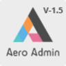 Aero - Bootstrap Admin Template with Laravel & Angular version